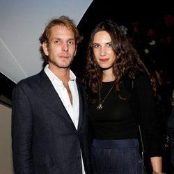 Andrea Casiraghi y Tatiana Santo Domingo en la fiesta de Emilio Pucci en la Semana de la Moda de París primavera/verano 2014