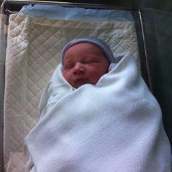 Primera imagen de Elijah, el primer hijo de la actriz Heather Morris