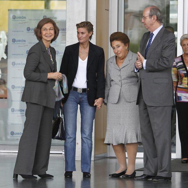 Visitas al Rey Juan Carlos tras ser operado de una infección en la cadera