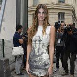 Bianca Brandolini en el desfile de Giambattista Valli en la Paris Fashion Week