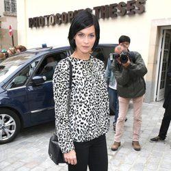 Leigh Lezark en el desfile de Giambattista Valli en la Paris Fashion Week