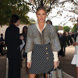 Hofit Golan en el desfile de Elie Saab en Paris Fashion Week primavera/verano 2014
