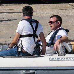 Guy Ritchie en el rodaje en Nápoles de 'The man from U.N.C.L.E'