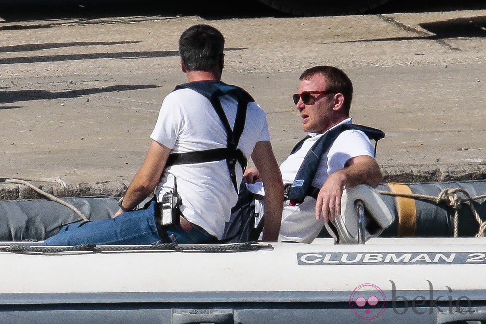 Guy Ritchie en el rodaje en Nápoles de 'The man from U.N.C.L.E'
