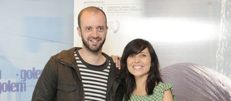 Fernando Franco y Marian Álvarez en la presentación de 'La herida'
