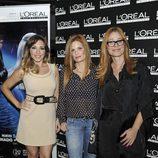 Gisela, Olivia de Borbón y Carla Hidalgo en una fiesta organizada por L'Oreal