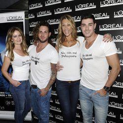 Olvido Hormigos, Jeyko, Mónica Pont y Jacobo Ostos en una fiesta organizada por L'Oreal