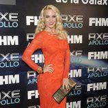 Edurne en la fiesta de las 100 mujeres más sexies del mundo 2013