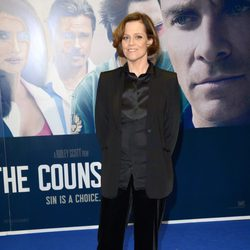 Sigourney Weaver en el estreno de 'El Consejero' en Londres