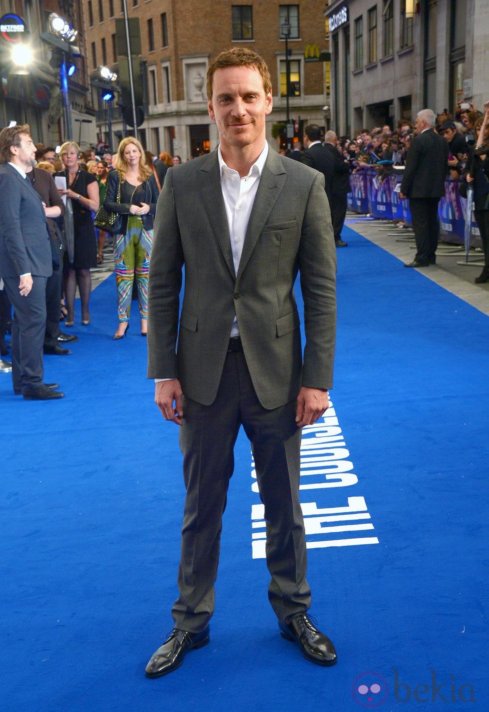 Michael Fassbender en el estreno de 'El Consejero' en Londres