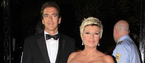 Terelu Campos y Carlos Pombo en los Premios Escaparate 2013