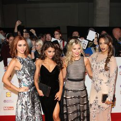The Saturdays en la entrega de los Pride of Britain 2013