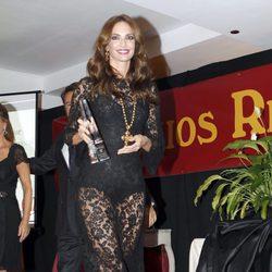 Eugenia Silva en los Premios La Pesquera 2013