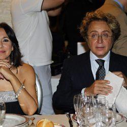 Isabel Gemio y José Víctor Rodríguez Caro en los Premios La Pesquera 2013