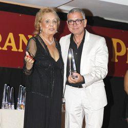 Juan Ramón Lucas en los Premios La Pesquera 2013