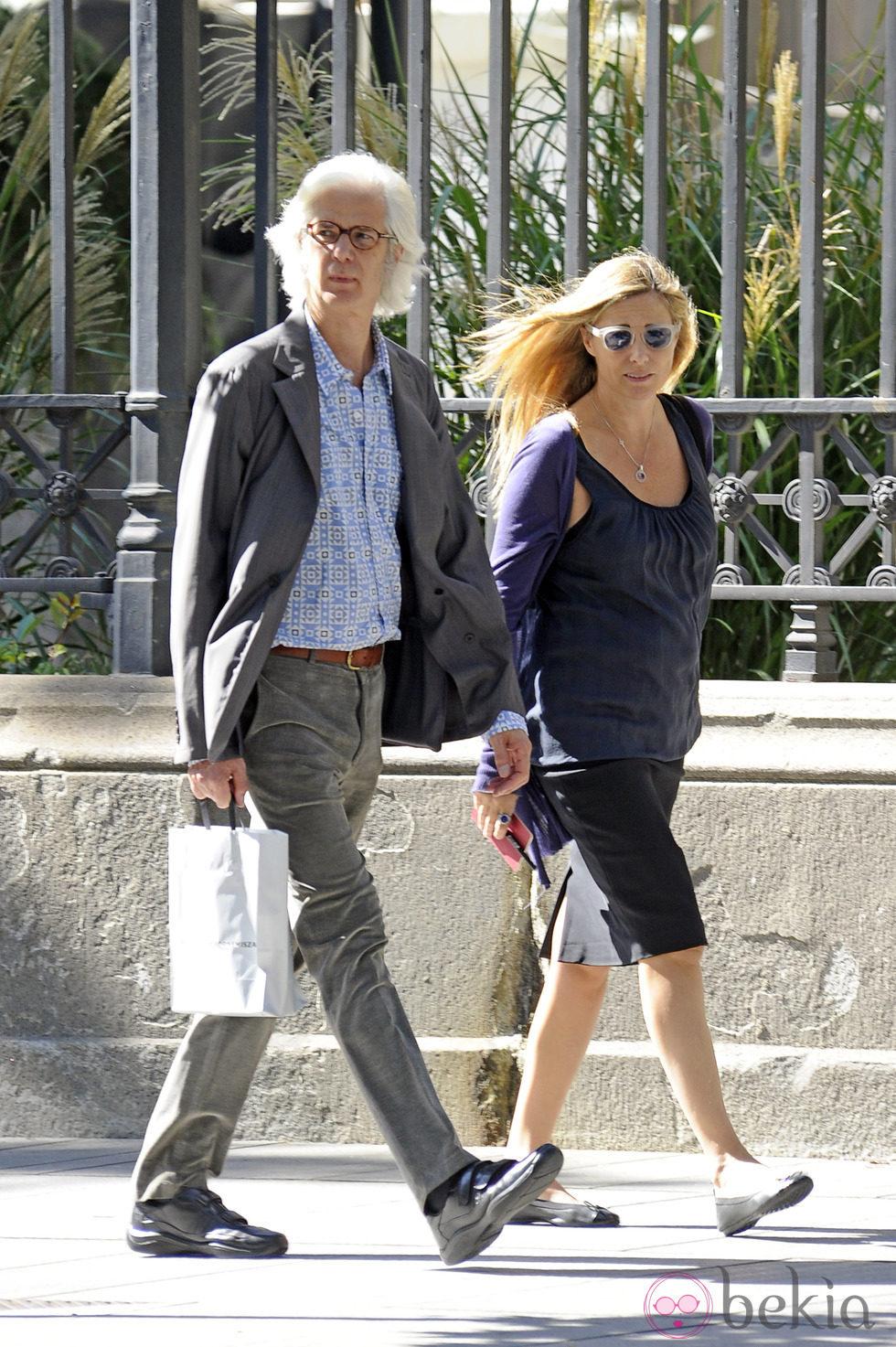 Jacobo Fitz-James Stuart e Inka Martí en Madrid