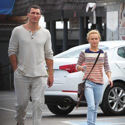 Hayden Panettiere y Wladimir Klitschko