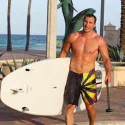 Wladimir Klitschko con el torso desnudo