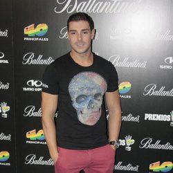 Jacobo Ostos en la presentación de los Premios 40 Principales 2013