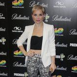 Soraya en la presentación de los Premios 40 Principales 2013