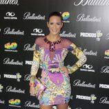Tamara Gorro en la presentación de los Premios 40 Principales 2013