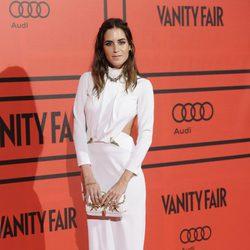 Gala González en la fiesta del V aniversario de Vanity Fair