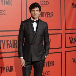 Andrés Velencoso en la fiesta del V aniversario de Vanity Fair