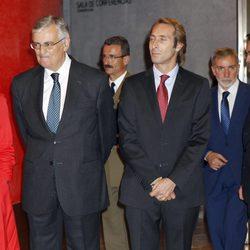 Alfonso Zurita en el homenaje a su padre, el Duque de Soria