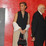 María Zurita en el homenaje a su padre, el Duque de Soria