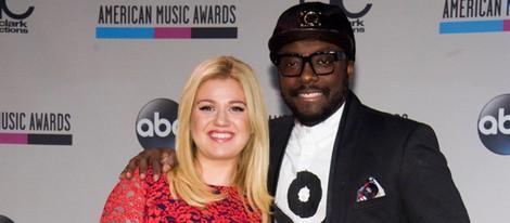 Kelly Clarkson y will.i.am leen la lista de nominados a los American Music Awards 2013