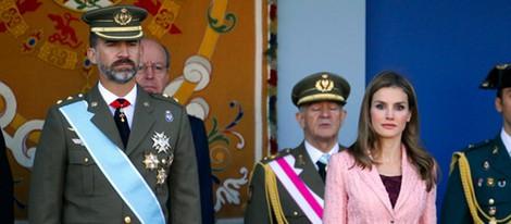 Los Príncipes de Asturias en el Día de la Hispanidad 2013