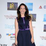 Kristin Davis en el cumpleaños de Hugh Jackman en Hollywood