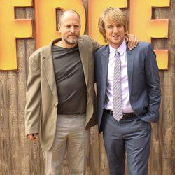 Woody Harrelson y Owen Wilson en el estreno de 'Free Birds' en Los Ángeles