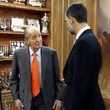 El Rey Juan Carlos y el Príncipe Felipe preparan la Cumbre Iberoamericana de Panamá