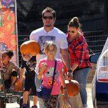 Mark Wahlberg en el Pumpkins Patch de Los Ángeles