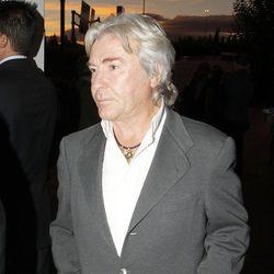 Ángel Nieto en el funeral por María de Villota en Madrid
