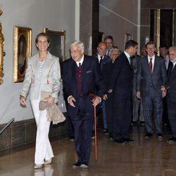 La Infanta Elena en los premios 'Rafael Manzano Martos'