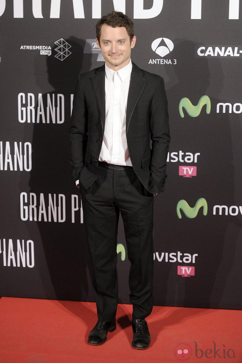 Elijah Wood en el estreno de 'Grand Piano' en Madrid