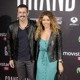 Fernando Coronado y Sandra Cervera en el estreno de 'Grand Piano' en Madrid