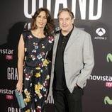 Juanjo Puigcorbé y Lola Marceli en el estreno de 'Grand Piano' en Madrid