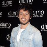 Javier Pereira en el aniversario de un restaurante
