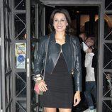 Silvia Jato en el aniversario de un restaurante