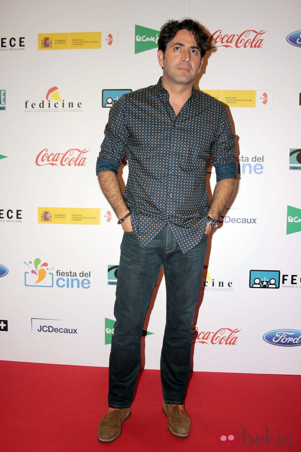 Antonio Garrido en la proyección de 'Capitán Phillips' por la Fiesta del Cine