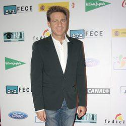 Juanjo Artero en la proyección de 'Capitán Phillips' por la Fiesta del Cine