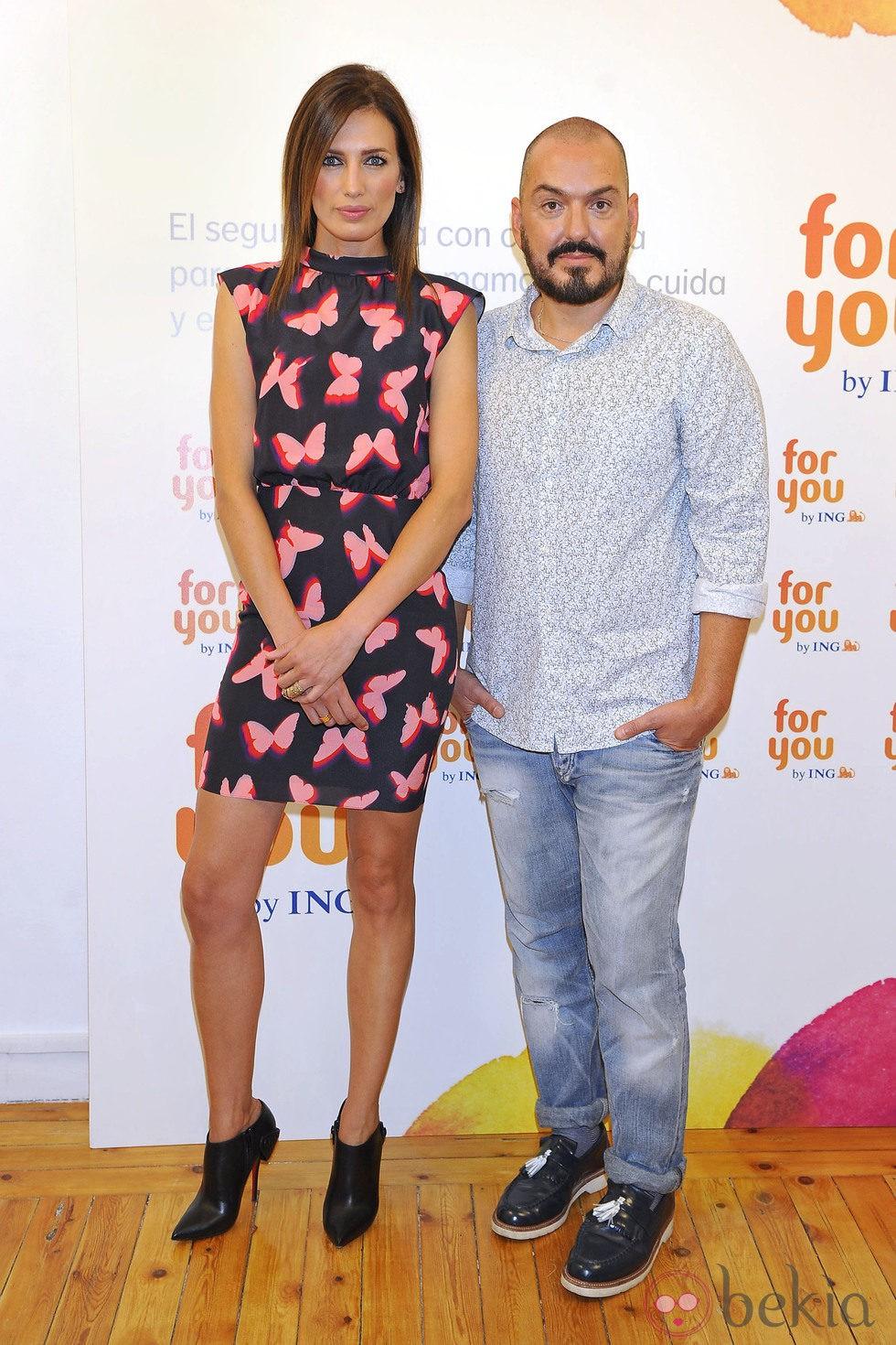 Nieves Álvarez y Duyos unen fuerzas contra el cáncer de mama
