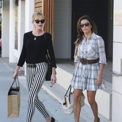 Eva Longoria y Melanie Griffith de compras por Beberly Hills