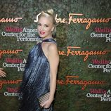 Gwen Stefani en la apertura del Centro Wallis de Beverly Hills