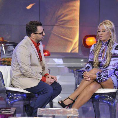 Belén Esteban, entrevistada por Jorge Javier Vázquez en su reaparición en 'Sálvame Deluxe'