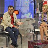 Jorge Javier Vázquez entrevista a Belén Esteban en su vuelta a 'Sálvame Deluxe'