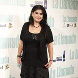 Lucía Etxebarría en el estreno de 'La llamada'